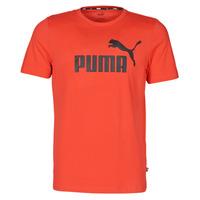 Vêtements Homme T-shirts manches courtes Puma ESSENTIAL TEE Rouge