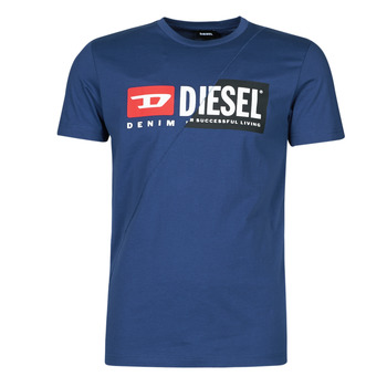 Vêtements Homme T-shirts manches courtes Diesel 00SDP1-0091A-8MG Marine