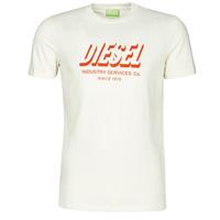 Vêtements Homme T-shirts manches courtes Diesel A01849-0GRAM-129 Blanc