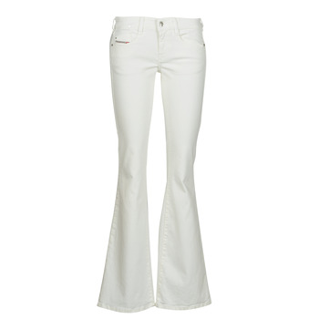 Vêtements Femme Jeans bootcut Diesel D-EBBEY Blanc cassé