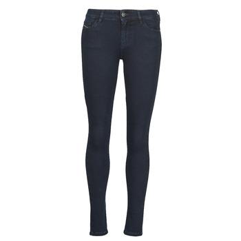 Vêtements Femme Jeans skinny Diesel SLANDY Bleu Foncé