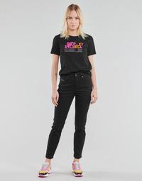 Vêtements Femme Jeans droit Diesel D-JOY Noir