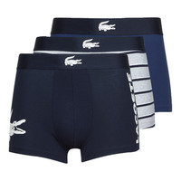 Sous-vêtements Homme Boxers Lacoste BACCKO Marine / Blanc / Gris