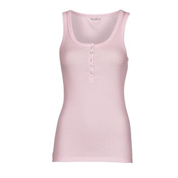 Vêtements Femme Débardeurs / T-shirts sans manche Guess MILENA TANK TOP Rose Clair