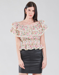 Vêtements Femme Tops / Blouses Guess SS NEW ISOTTA TOP Rose
