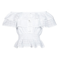Vêtements Femme Tops / Blouses Guess SS NEW ISOTTA TOP Blanc