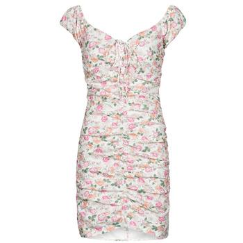 Vêtements Femme Robes courtes Guess INGRID DRESS Rose Clair