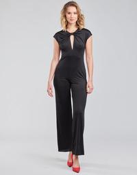 Vêtements Femme Combinaisons / Salopettes Guess ROSANNA JUMPSUIT Noir