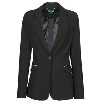 Vêtements Femme Vestes / Blazers Guess SELENE BLAZER Noir