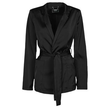 Vêtements Femme Vestes / Blazers Guess DIMITRA BLAZER Noir