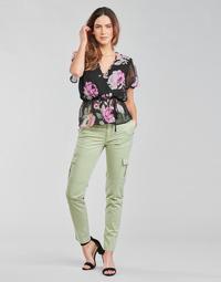 Vêtements Femme Pantalons cargo Guess SEXY CARGO PANT Vert