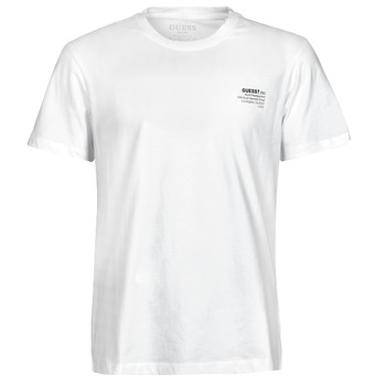 Vêtements Homme T-shirts manches courtes Guess ORGANIC BASIC CN SS TEE Blanc