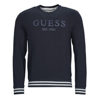 Vêtements Homme Sweats Guess BEAU CN FLEECE Noir