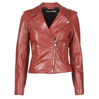 Vêtements Femme Vestes en cuir / synthétiques Naf Naf CHACHA P Rouge