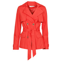 Vêtements Femme Trenchs Naf Naf BIPARIS Rouge