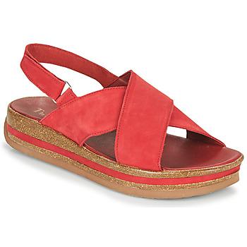 Chaussures Femme Sandales et Nu-pieds Think ZEGA Rouge