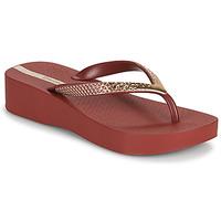 Chaussures Femme Tongs Ipanema IPANEMA MESH VI PLAT FEM Bordeaux