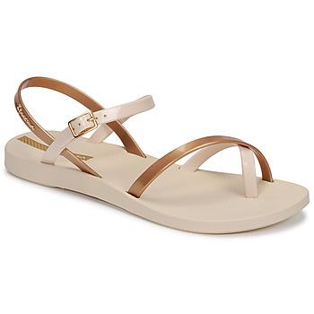 Chaussures Femme Sandales et Nu-pieds Ipanema Ipanema Fashion Sandal VIII Fem Beige / Doré