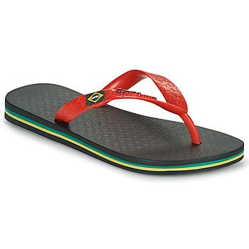 Chaussures Enfant Tongs Ipanema IPANEMA CLAS BRASIL II KIDS Noir / Rouge