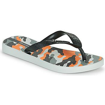 Chaussures Enfant Tongs Ipanema IPANEMA CLASSIC IX KIDS Gris / Noir / Orange