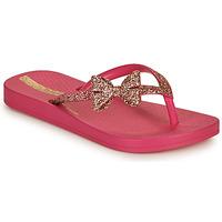 Chaussures Fille Tongs Ipanema IPANEMA ANAT LOLITA KIDS Rose