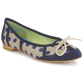 Chaussures Femme Ballerines / babies Stephane Gontard KASTOR Marine