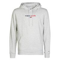 Vêtements Homme Sweats Tommy Jeans TJM LINEAR LOGO HOODIE Gris