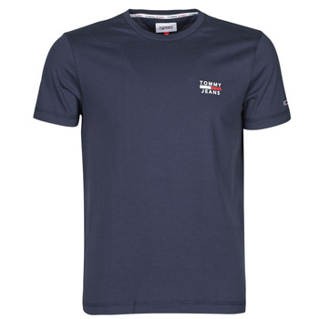 Vêtements Homme T-shirts manches courtes Tommy Jeans TJM CHEST LOGO TEE Marine
