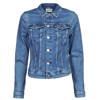 Vêtements Femme Vestes en jean Tommy Jeans VIVIANNE SLIM DENIM TRUCKER NMBS Bleu Medium