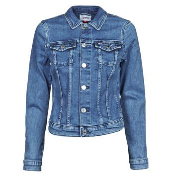 Vêtements Femme Vestes en jean Tommy Jeans VIVIANNE SLIM DENIM TRUCKER NMBS Bleu Medium
