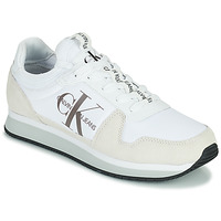 Chaussures Homme Baskets basses Calvin Klein Jeans RUNNER SOCK LACEUP NY-LTH Blanc