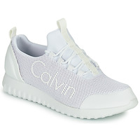 Chaussures Homme Baskets basses Calvin Klein Jeans RUNNER SNEAKER LACEUP MESH Blanc