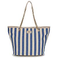 Sacs Femme Cabas / Sacs shopping Liu Jo SICURA XL TOTE Beige / Bleu