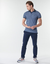 Vêtements Homme Chinos / Carrots Benetton 4EG355ID8-016 Marine