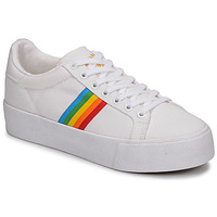 Chaussures Femme Baskets basses Gola ORCHID PLATEFORM RAINBOW Blanc / Multi