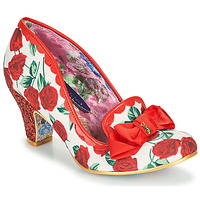 Chaussures Femme Escarpins Irregular Choice KANJANKA Rouge / Blanc