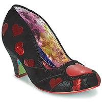 Chaussures Femme Escarpins Irregular Choice HEART ON YOUR SLEEVE Noir