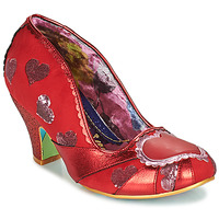 Chaussures Femme Escarpins Irregular Choice HEART ON YOUR SLEEVE Rouge
