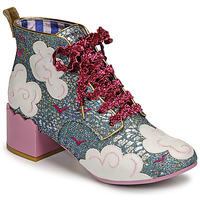 Chaussures Femme Bottines Irregular Choice HEAD IN THE CLOUDS Bleu / Rose
