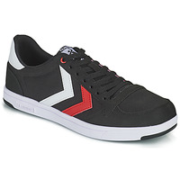 Chaussures Homme Baskets basses Hummel STADIL LIGHT CANVAS Noir / Rouge