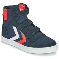 Chaussures Enfant Baskets montantes Hummel STADIL HIGH JR Bleu