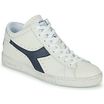 Chaussures Baskets montantes Diadora GAME L WAXED ROW CUT Blanc