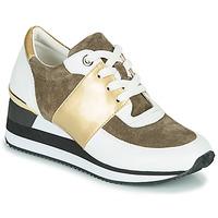 Chaussures Femme Baskets basses Karston SILMON Blanc / Doré