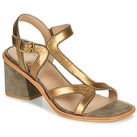 Chaussures Femme Sandales et Nu-pieds Karston PSOK Kaki / Bronze