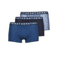 Sous-vêtements Homme Boxers Athena EASY STYLE X3 Bleu / Marine / Bleu