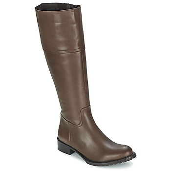 Botte ville Betty London CAVAK Marron