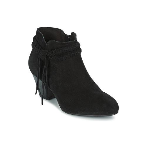 Chaussures Femme Bottines Betty London CROUTILLE Noir