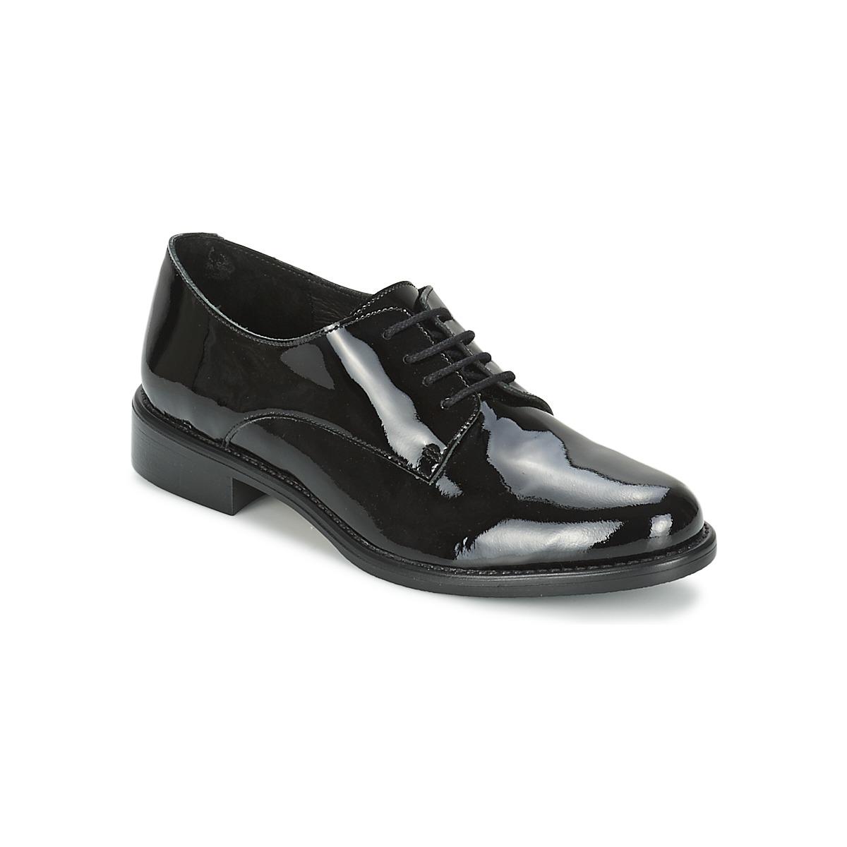 betty london caxo noir chaussure pas cher avec chaussures derbies femme 55 99. Black Bedroom Furniture Sets. Home Design Ideas