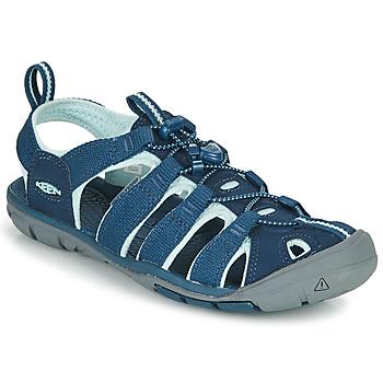 Chaussures Femme Sandales sport Keen CLEARWATER CNX Bleu