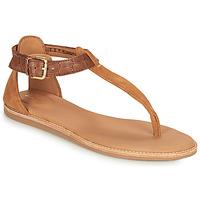 Chaussures Femme Sandales et Nu-pieds Clarks KARSEA POST Marron / Camel